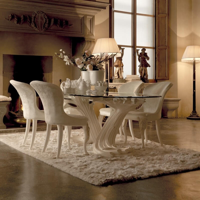 Luxury Dining Chairs, Luxury Dining Room Furniture Italy