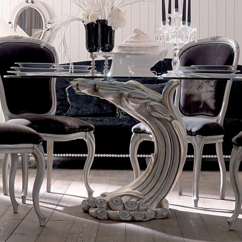 Swjif0297 Luxury Designer Dining Tables Dining Room Classical Luxury Furniture Furniture Sunwe Luxury Furniture Hong Kong Sunwe Living Co Ltd